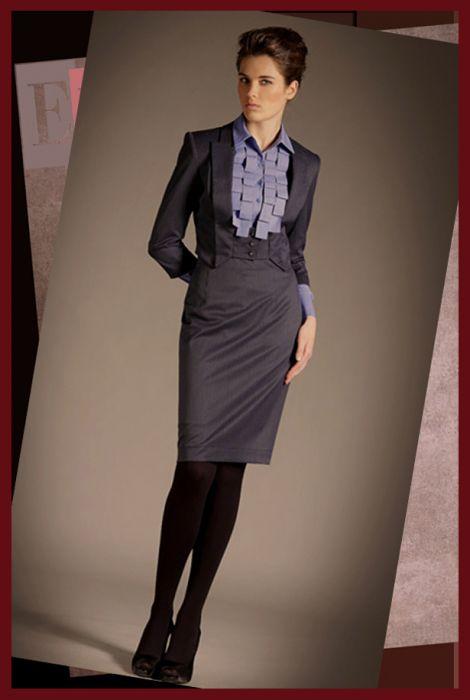 Из чего сшить женский деловой костюм